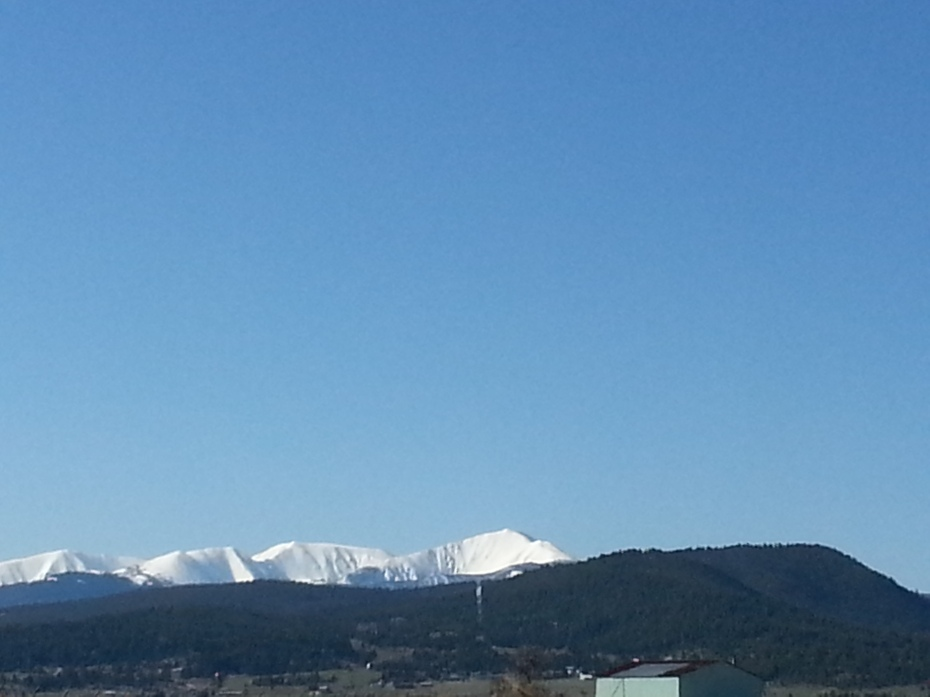 Snow on the Highlands ~ Mother's Day
